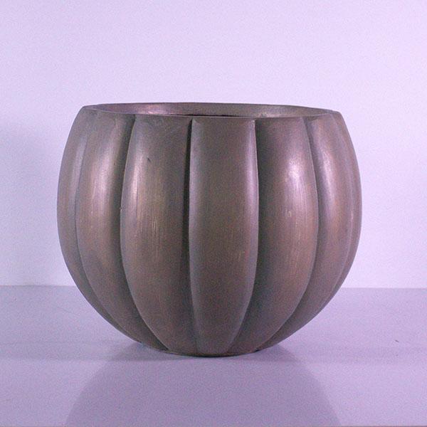 وعاء على شكل يقطين أواني و مزهريات وعاء من الزجاج الليفي