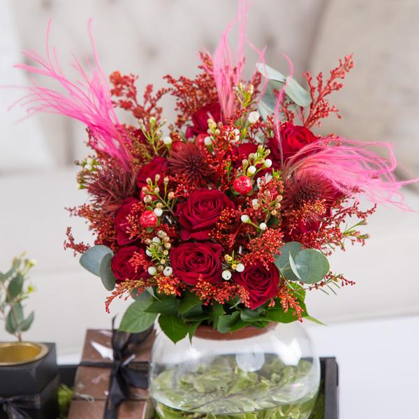 Maya Flower with Base With Base