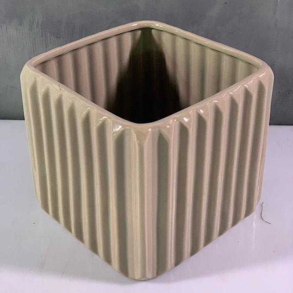 square planter Pots & Vases Ceramic Pots
