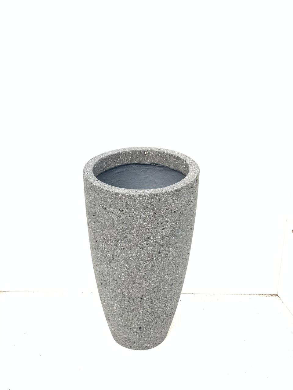 Round Ficonstone Hurricane Light & Oil Lamp 'Pots & Vases Ficonstone