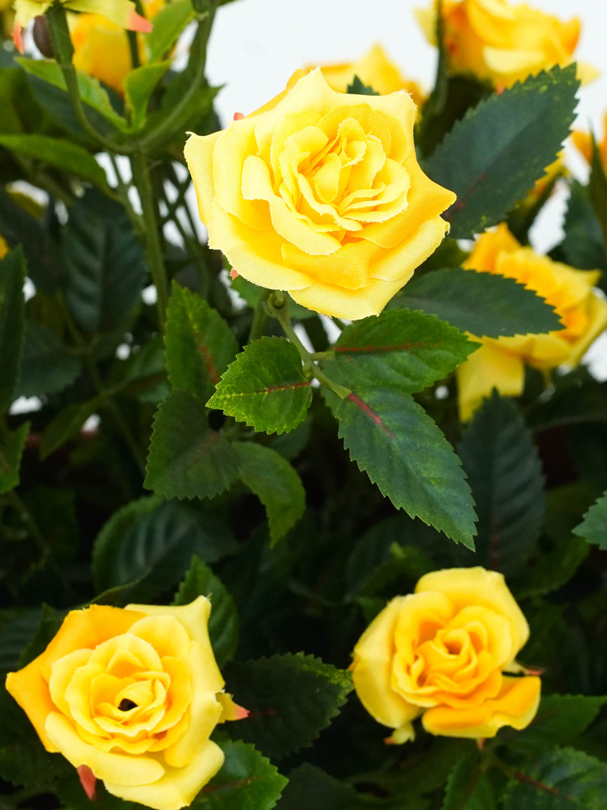 yellow rose1 Artificial Plants Flower
