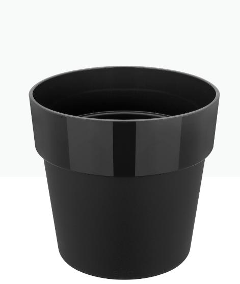 B. For Original Round Pot - Black 'Pots & Vases Plastic Pots