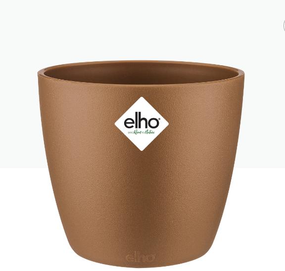 Brussels Round Mini Pot - Velvet Gold 'Pots & Vases Plastic Pots