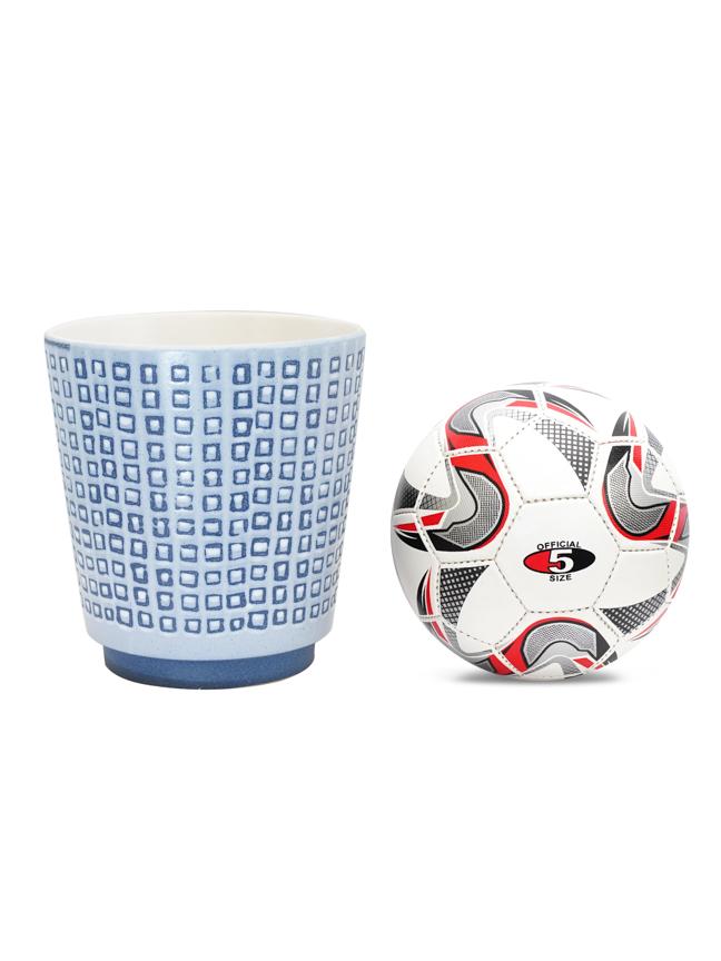 Ceramic Pot 25cm - VO-24-300 H26 Pots & Vases Ceramic Pots