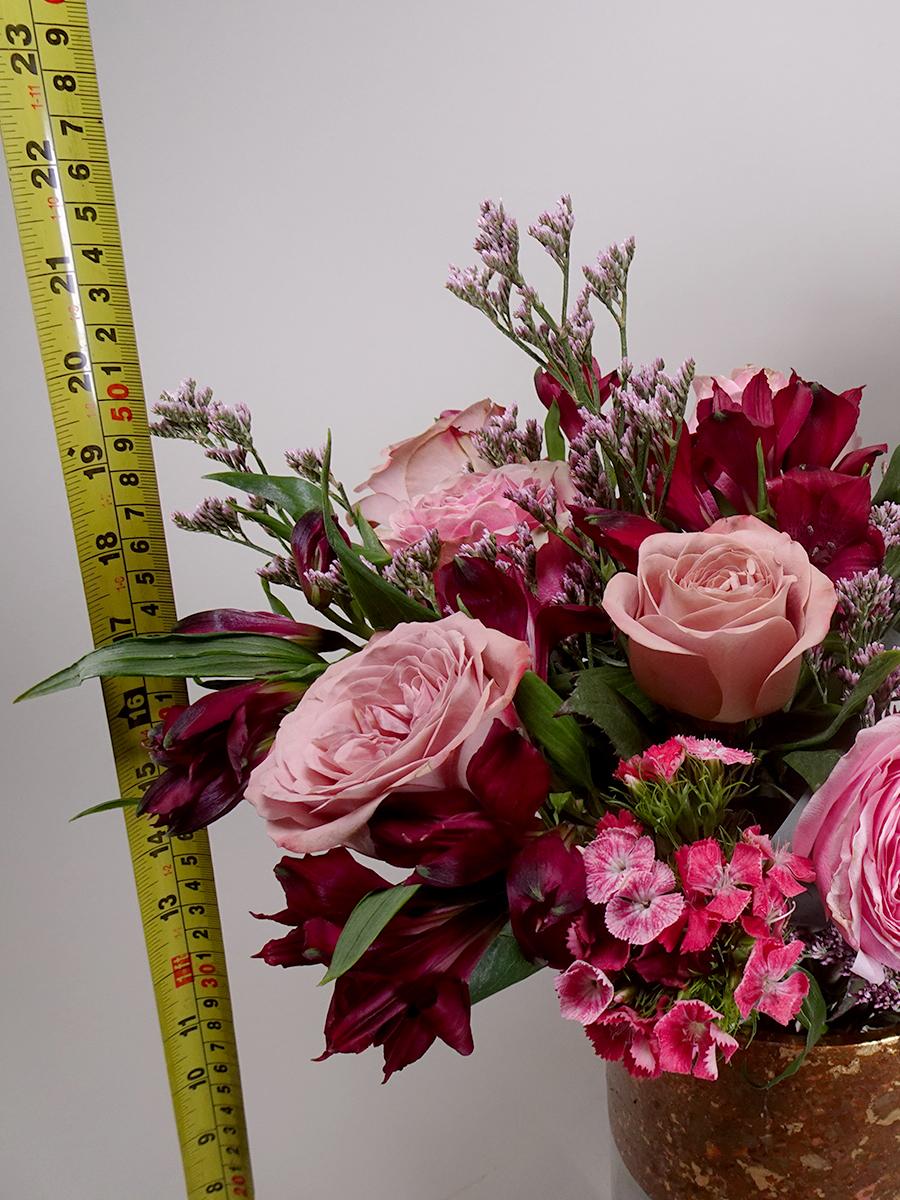 جاردن دي روز البرونزية باقة زهور باقة زهور