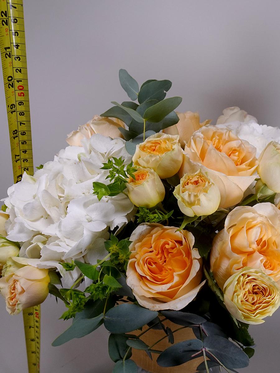 جاردن دي روز الذهبية  باقة زهور باقة زهور