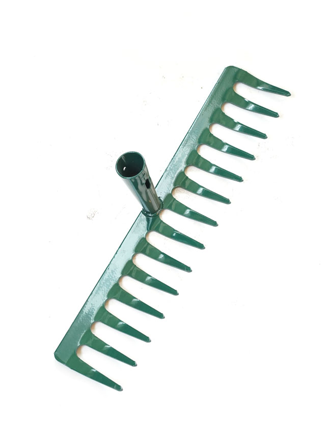 Hard Reck with Wooden Stick Gardening Accessories Hand Tools