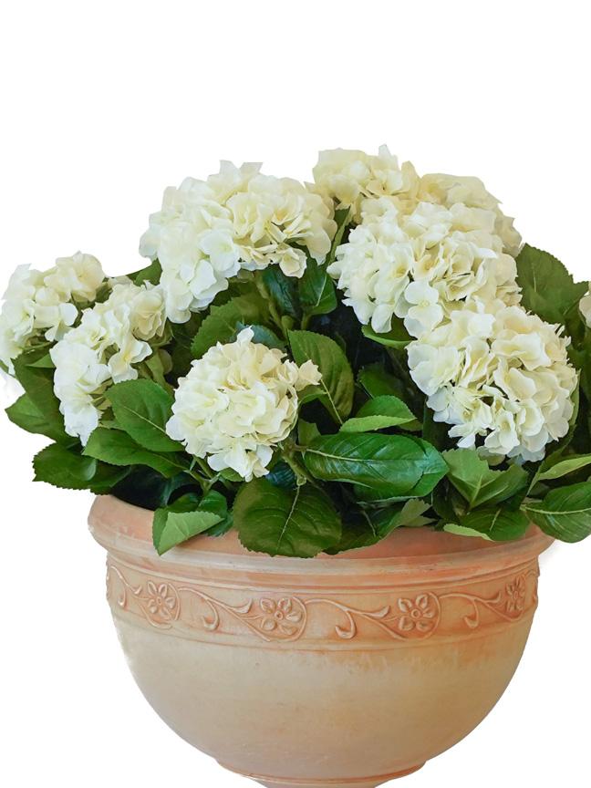 Hudranga 1 (White) 'Artificial Plants Flower