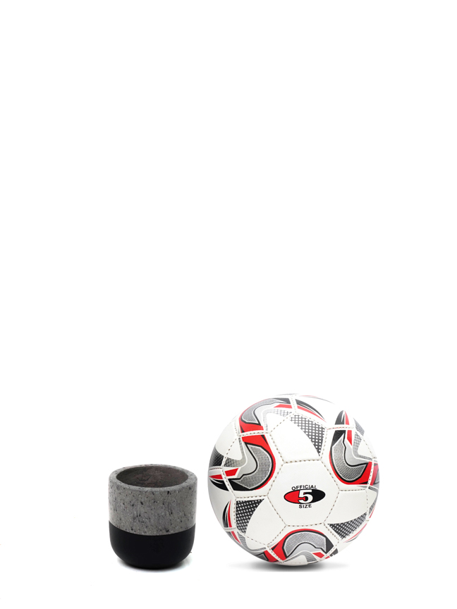 BTM Pot Black (12 Cm) 'Pots & Vases Concrete pots