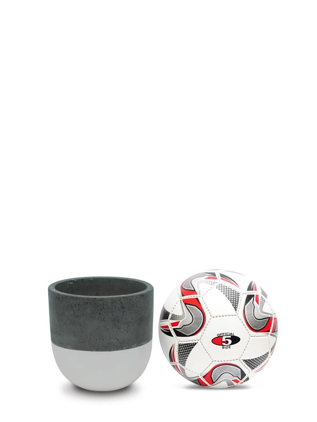 BTM Pot White (20 cm) Pots & Vases Concrete pots