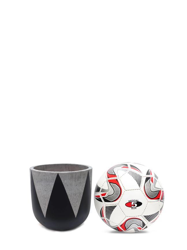 Crown Black (20 CM) 'Pots & Vases Concrete pots