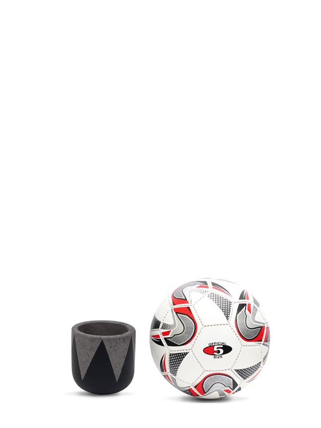Crown Black (12 CM) 'Pots & Vases Concrete pots