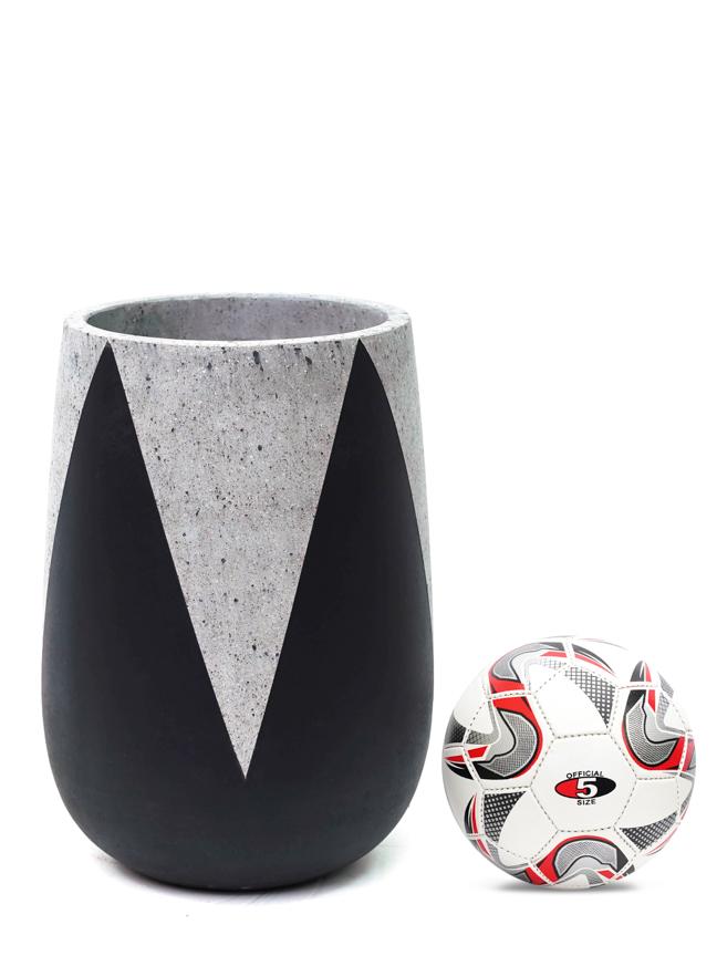Crown Black (50*35 CM ) Pots & Vases Concrete pots