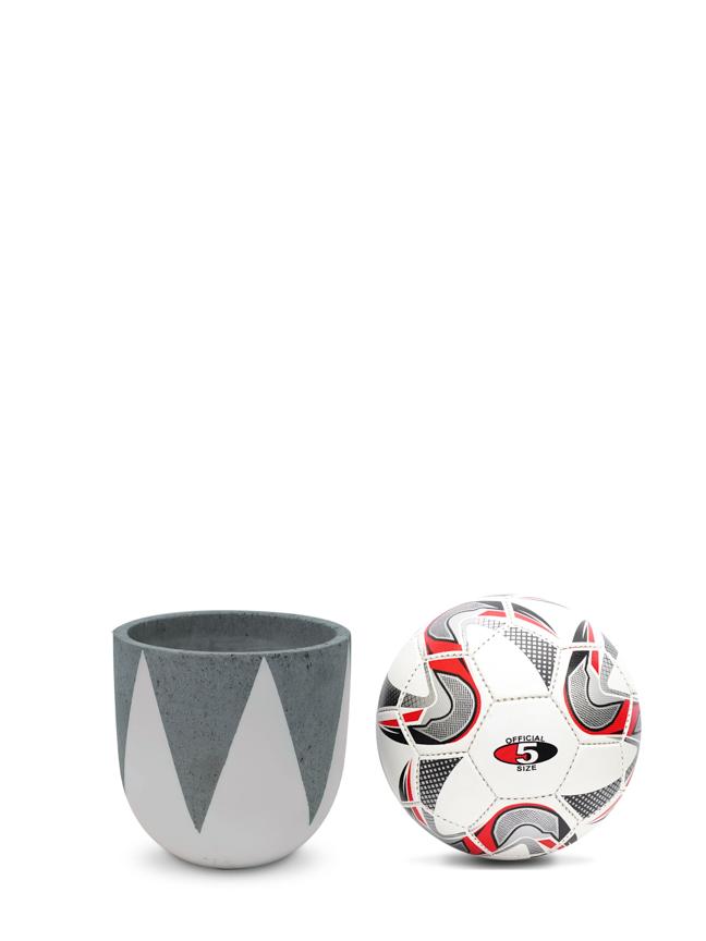 Crown White (20 CM) Pots & Vases Concrete pots