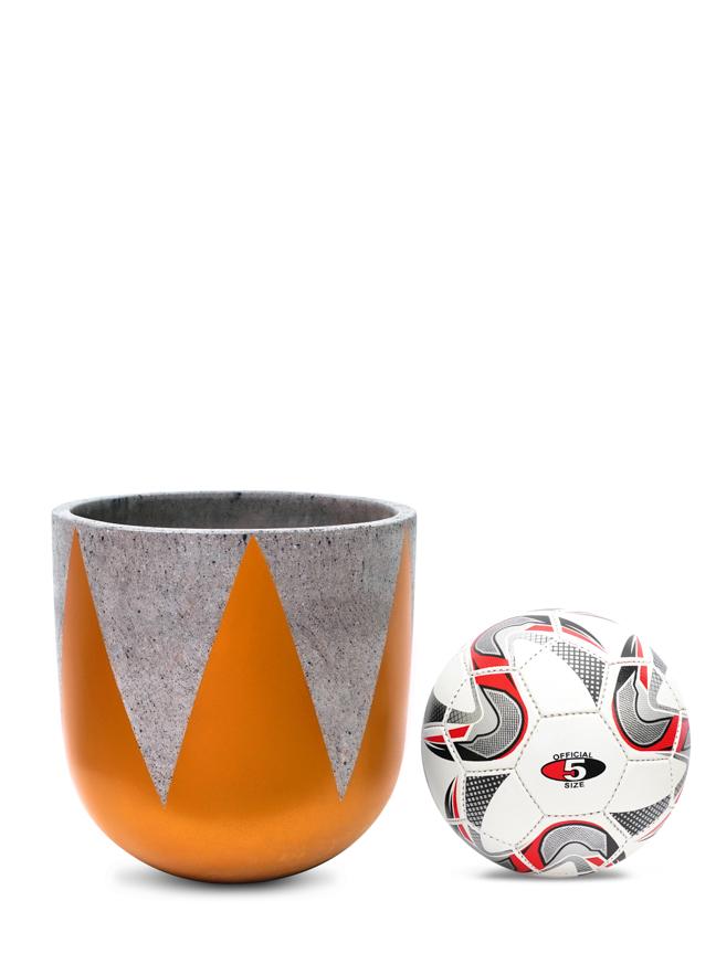 Crown Gold (30 CM) 'Pots & Vases Concrete pots