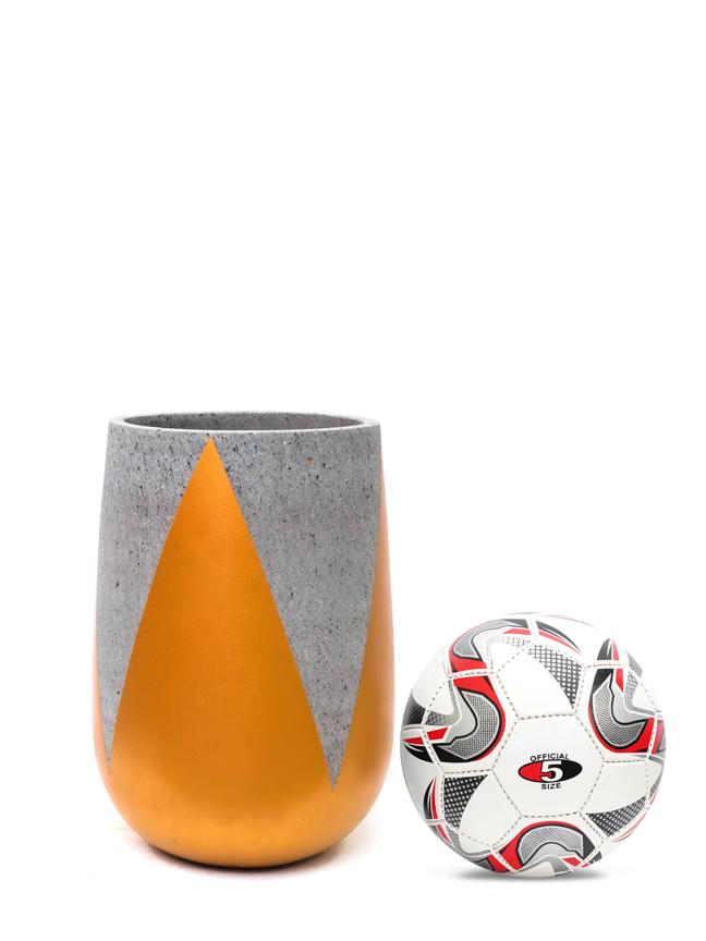 Crown Gold (35*23 CM) 'Pots & Vases Concrete pots