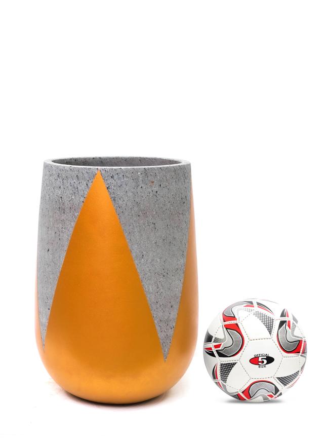 Crown Gold (50*30 CM) 'Pots & Vases Concrete pots