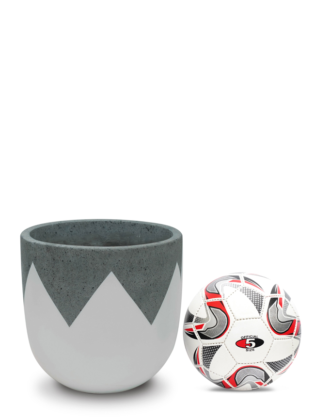 Wave White (30 cm) Pots & Vases Concrete pots