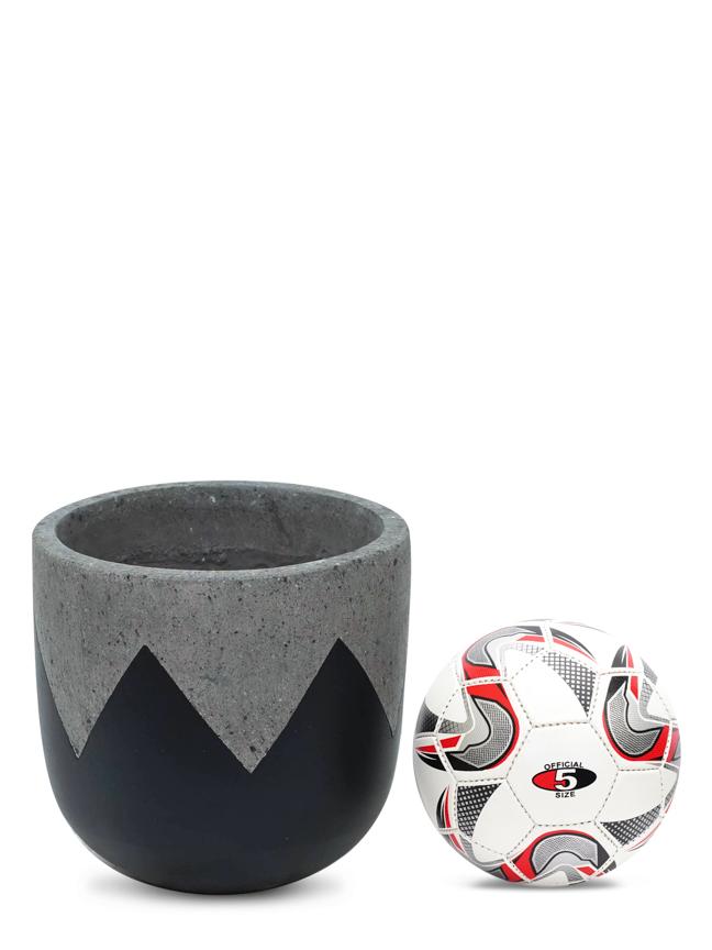 Wave Black (30 Cm) 'Pots & Vases Concrete pots
