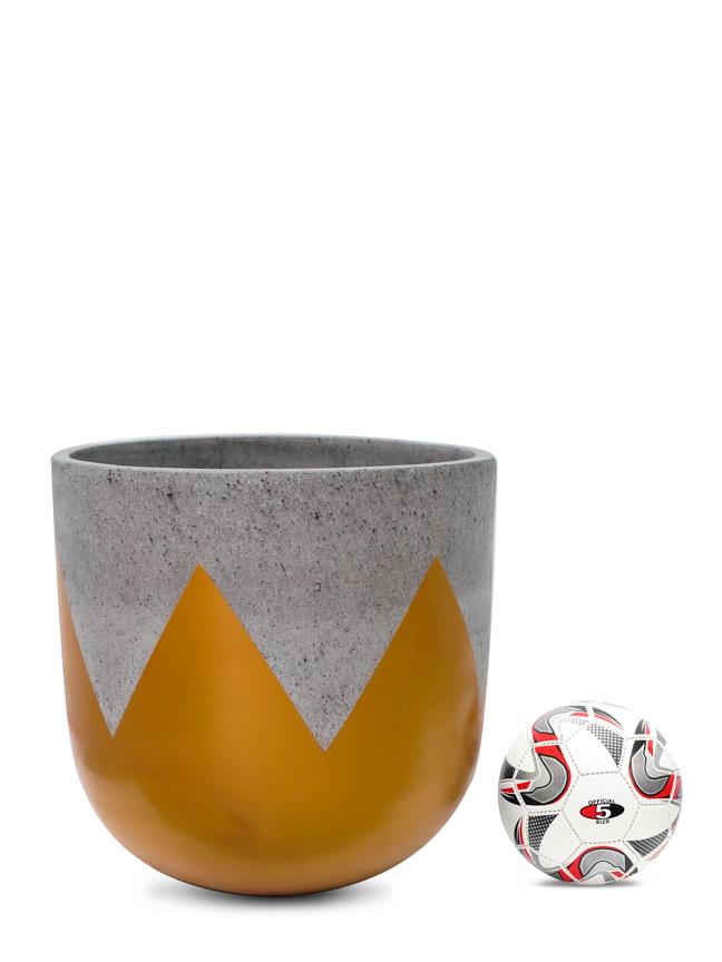 Wave Gold (40 Cm) 'Pots & Vases Concrete pots