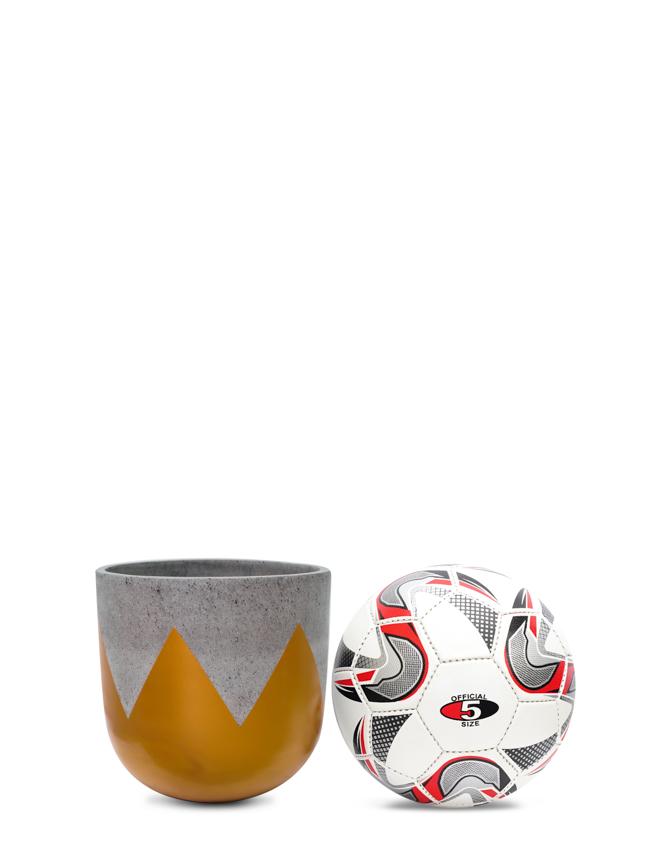 Wave Gold (20 cm) Pots & Vases Concrete pots