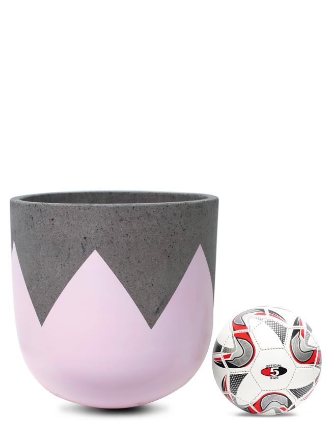 Wave Pink (40 Cm) 'Pots & Vases Concrete pots