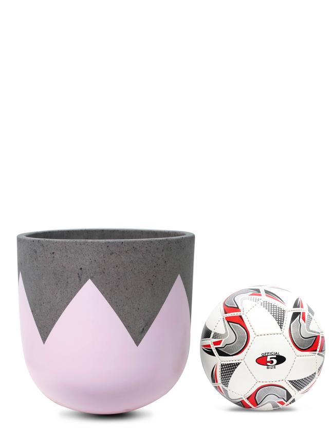 Wave Pink (30 Cm) 'Pots & Vases Concrete pots