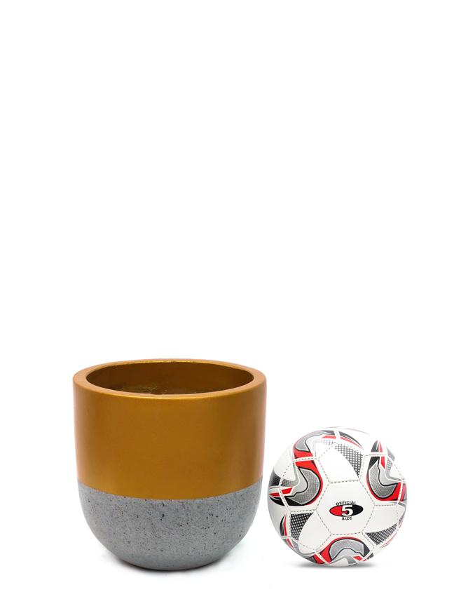 Top Pot Gold (30 cm) Pots & Vases Concrete pots