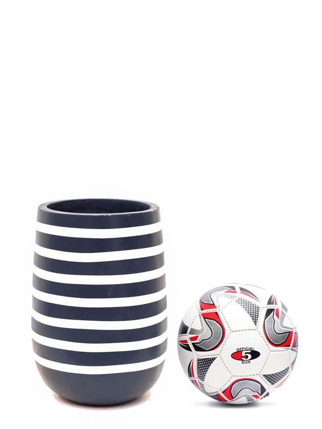Zebra Marina Navy 'Pots & Vases Concrete pots