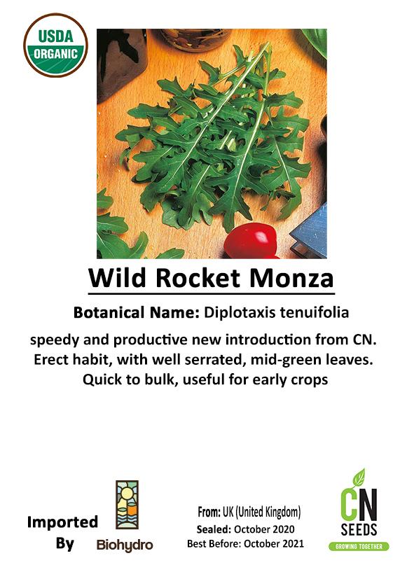 WILD ROCKET MONZA Seeds Fruits and Vegetables