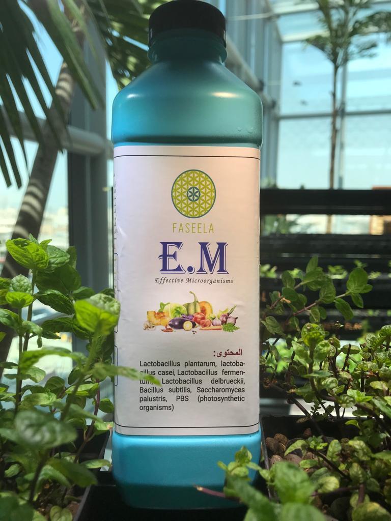 Effective Microorganisms (EM) Soil Fertilizer Pesticide Organic