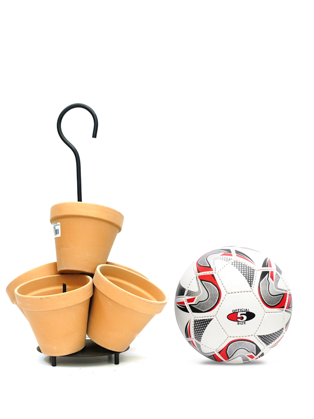 Daisy Flowertower Terra Antique Table  'Pots & Vases Ceramic Pots