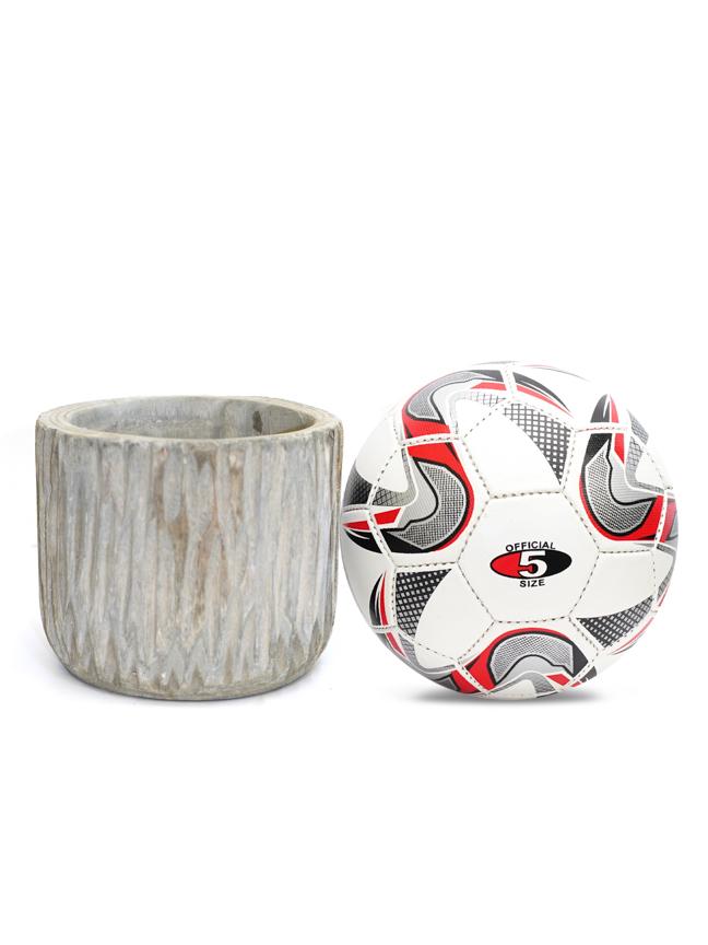 Pia pot grey 19 Pots & Vases Wooden Art