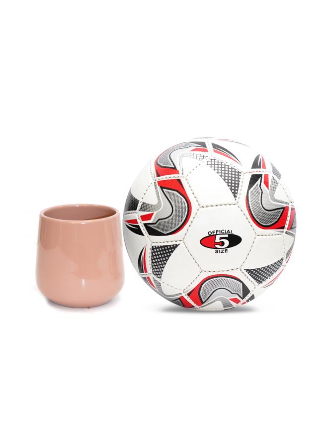 Amber Pot Round L. Pink  'Pots & Vases Ceramic Pots