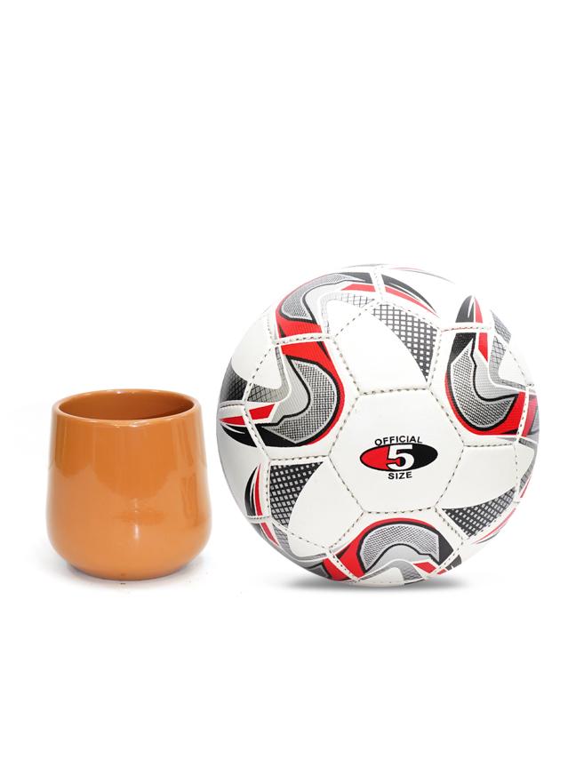 Amber Pot Round Brown  'Pots & Vases Ceramic Pots