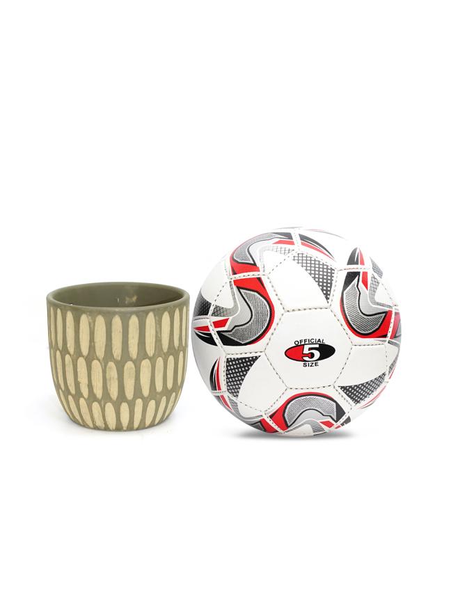 Gianni Pot Round 5 Green 'Pots & Vases Ceramic Pots