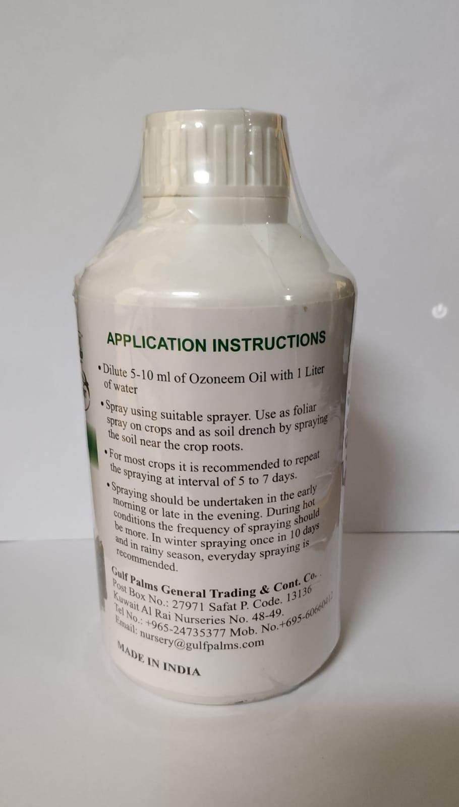 Neem Oil Soil Fertilizer Pesticide Organic