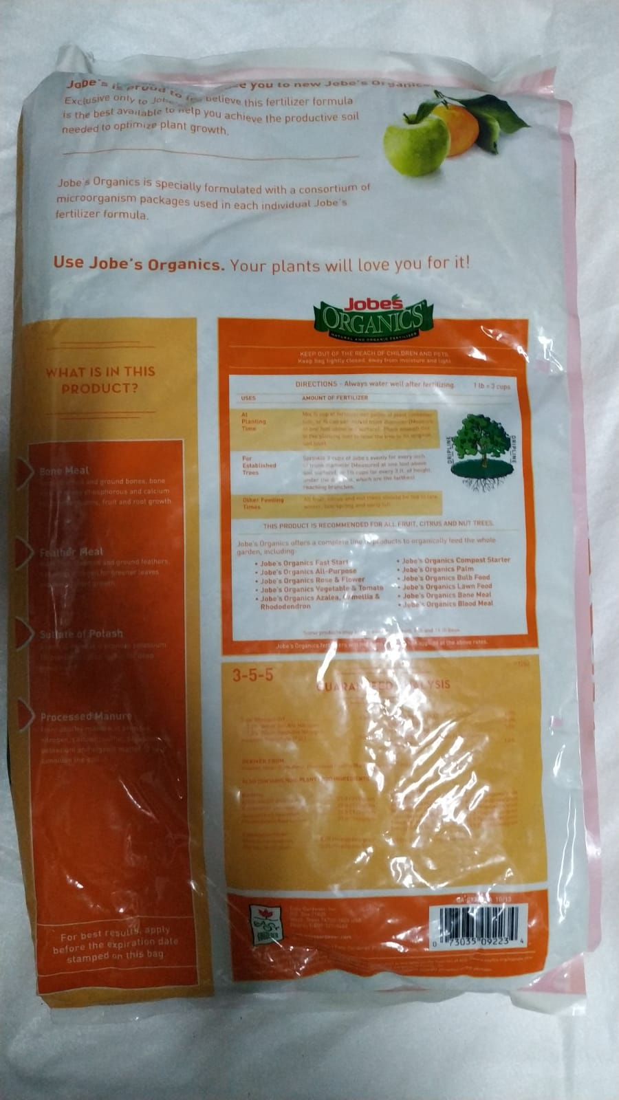 FRUIT & CITRUS GRANULAR Large Soil Fertilizer Pesticide Fertilizers