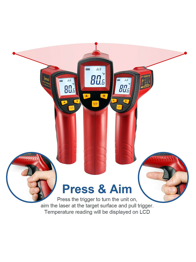 Thermometer Measuring Instruments PH Calibration