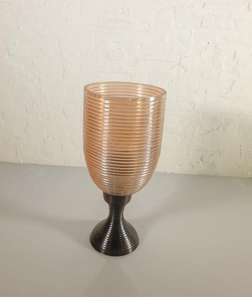 Glass Vase - Light Yellow  Pots & Vases Vases & Bowl