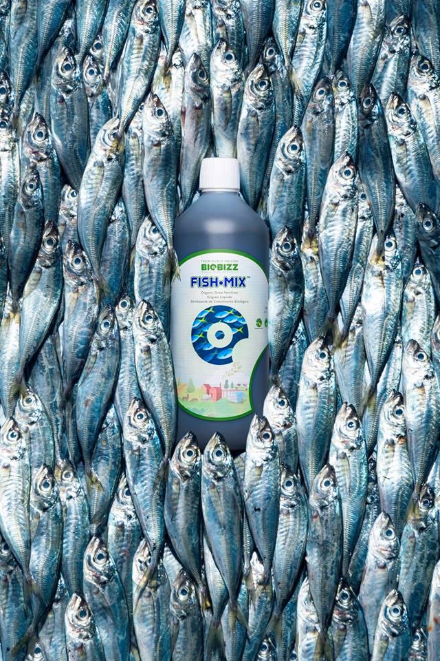 Biobizz Fish Mix 1L Soil Fertilizer Pesticide Organic