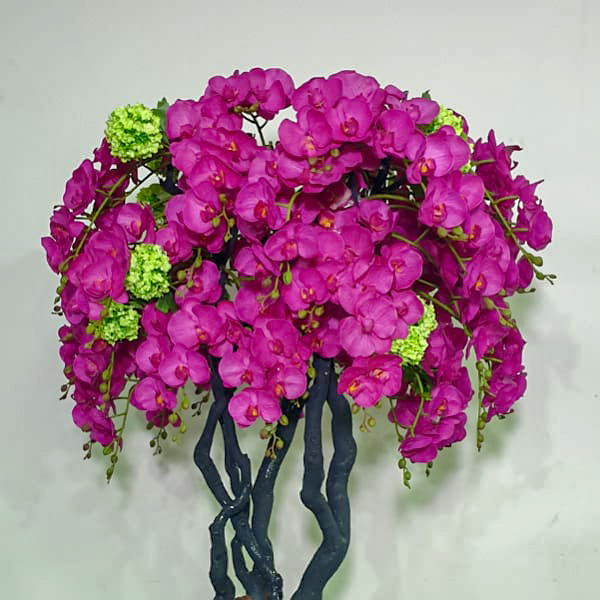 Orchids Tree 12 Artificial Plants Flower