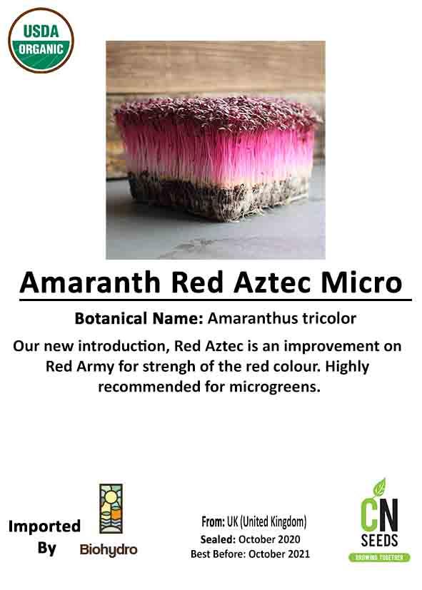 Amaranth Red Aztec - Micro Online