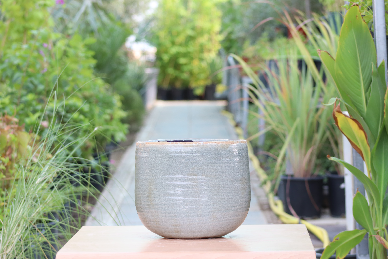 Iris Mint Pot Pots & Vases
