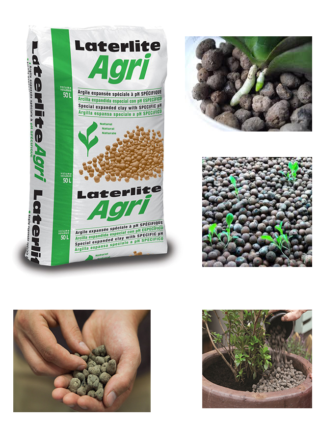 Organic LATERLITE AGRI EXPANDED CLAY  'Soil Fertilizer Pesticide'