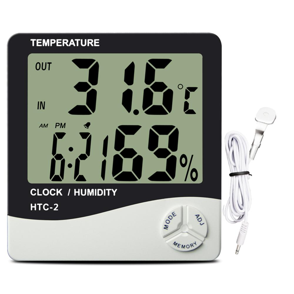 Display Thermo Hygrometer Large Gardening Accessories