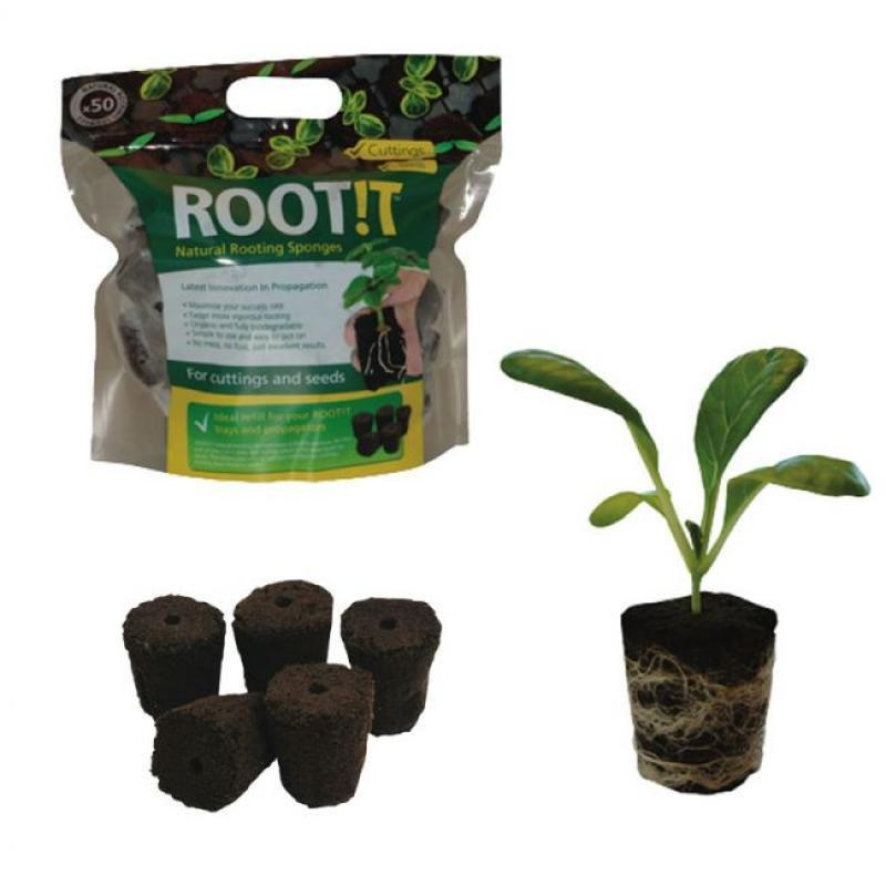 ROOTiT Natural Rooting Sponges Seeds Seed Starting