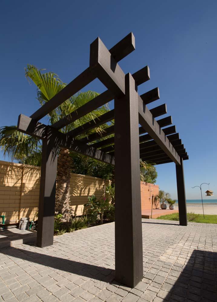 Dura Pergola Without Decoration Garden Furniture