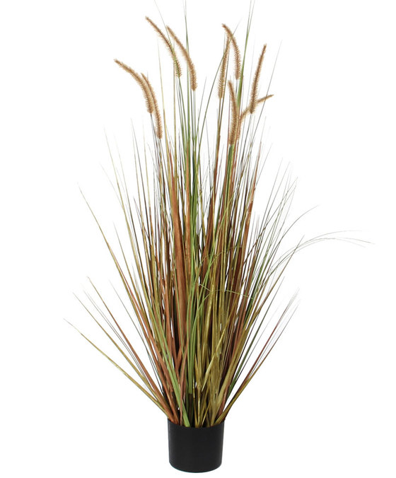Plume Grass Green L 'Artificial Plants'