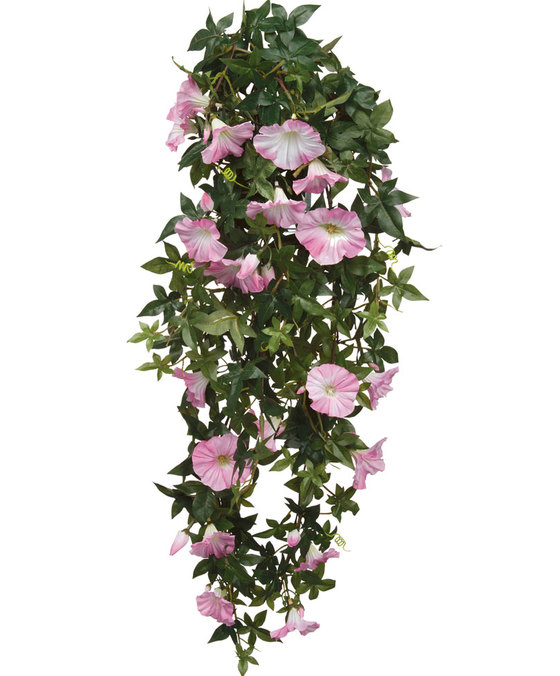 Petunia Hanging Pink Artificial Plants